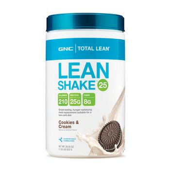 GTotal Lean® Lean Shake™ 25 Cookies + Cream