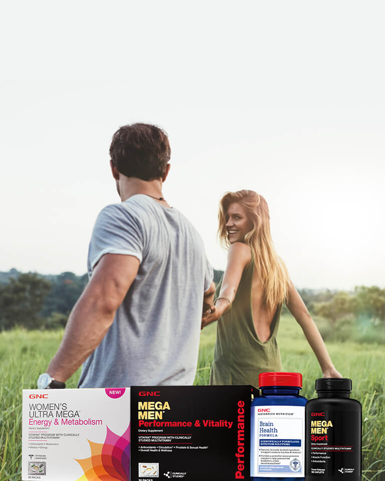 Shop Buy One, Get One half off vitamins and supplements