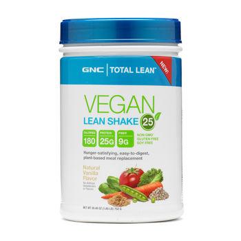 GNC Total Lean® Vegan Lean Shake™ 25 – Natural Vanilla