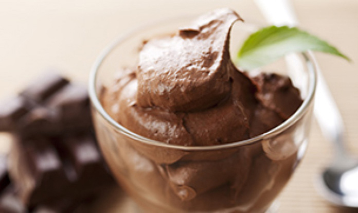 Fluffy Chocolate Mousse with GNC Total Lean