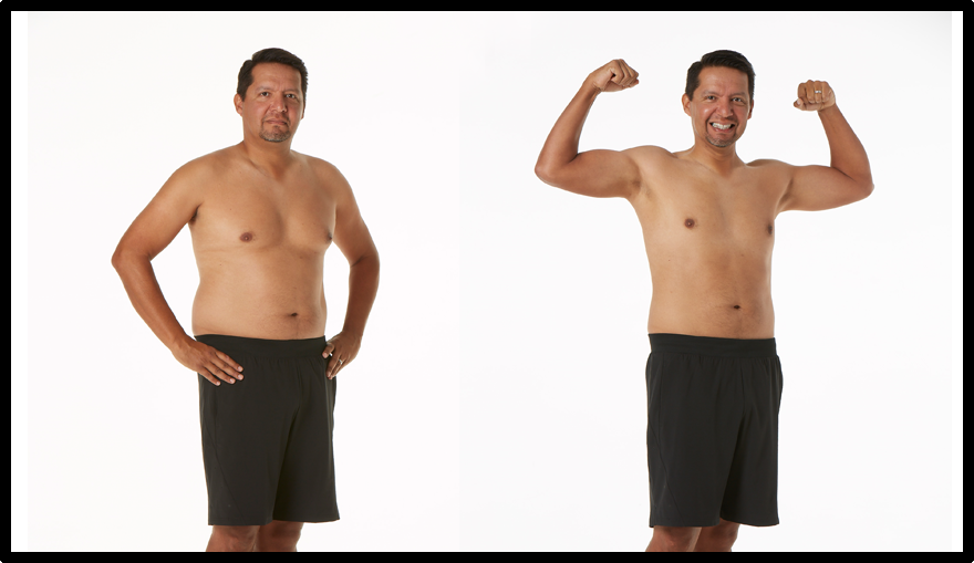 FLAVIO - IN JUST 8 WEEKS, LOST 29 LBS