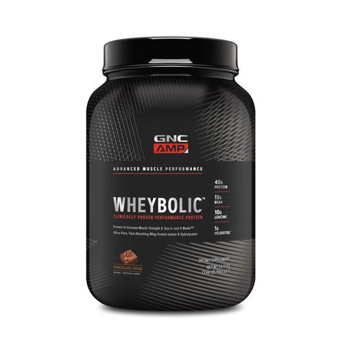 GNC AMP Wheybolic - Chocolate Fudge)