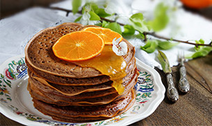 Creamsicle Protein Pancakes Recipe