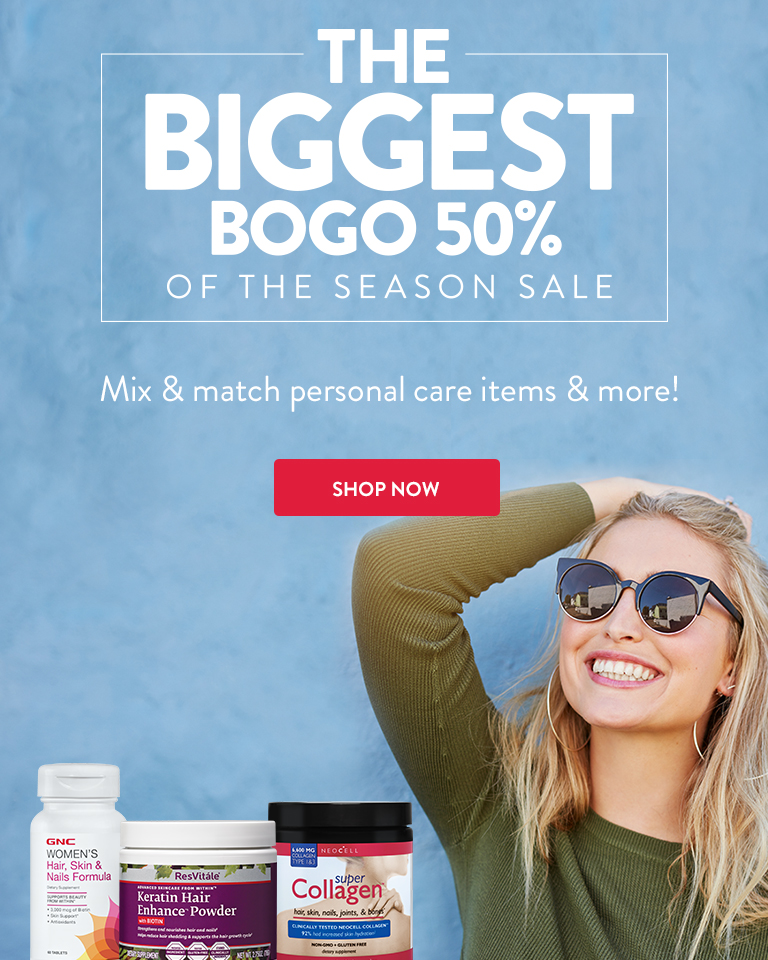 The Biggest BOGO 50% of the Season Sale. Shop Now.