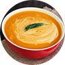 Moroccan Sweet Potato Soup with Spinach Recipe