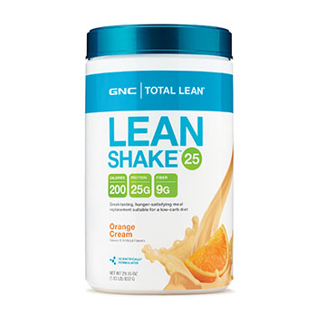 Orange Cream GNC Total Lean Lean Shake 25