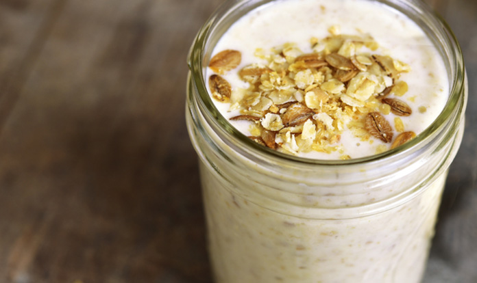 Warm Oatmeal Smoothie On The Go Recipe