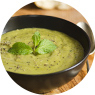 Vegetarian Split Pea Soup with Soy Protein Recipe