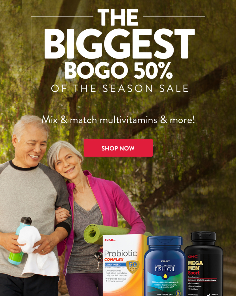 The Biggest BOGO 50% of the Season Sale. Mix & Match Multivitamins and more. Shop Now.