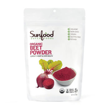 SunFood™ Organic Superfoods Beet Powder