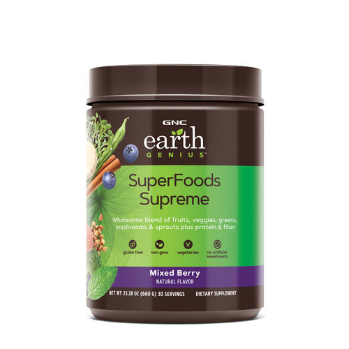 GNC EARTH GENIUS™ SUPERFOODS SUPREME - MIXED BERRY