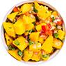 Fresh Mango Salsa with Whey Protein Recipe