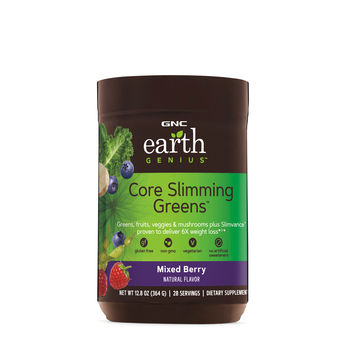 GNC Earth Genius™ Core Slimming Greens™ (Mixed Berry)