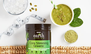 Slimming Greens Vegan Protein Smoothie Gnc