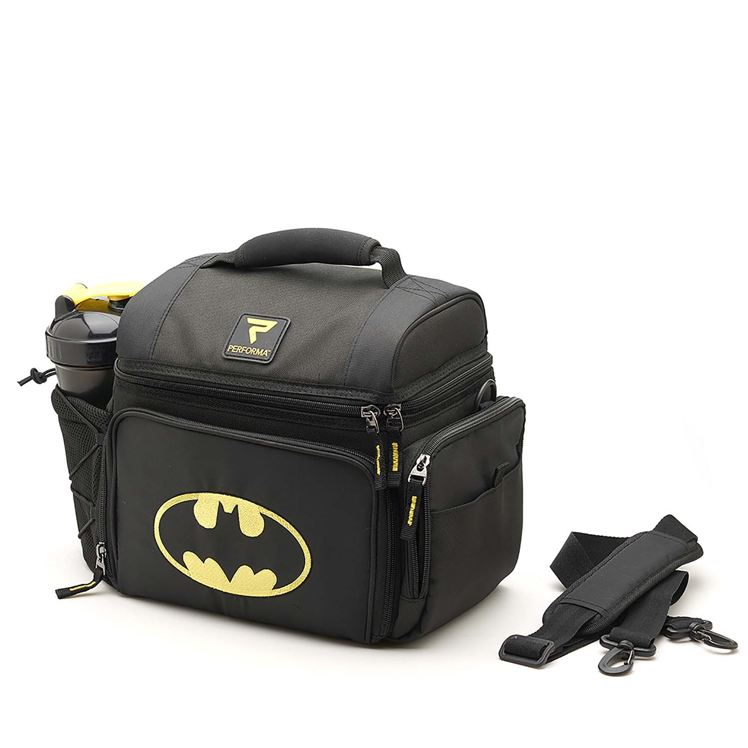 4bebaa593e4f PerfectShaker Meal Prep Bag - Batman Themed