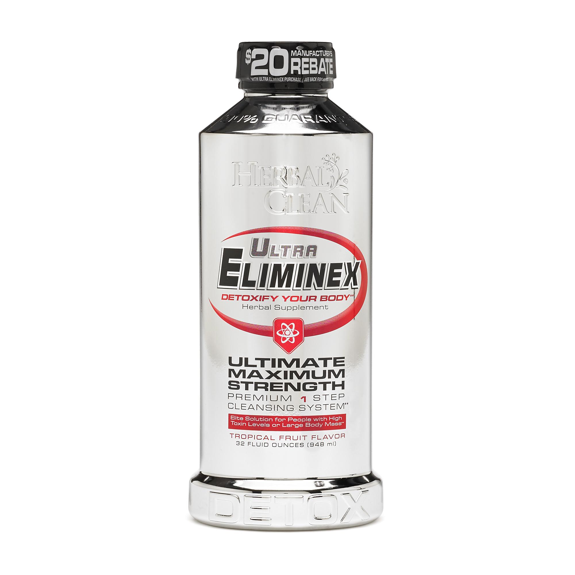 Herbal Clean Ultra Eliminex Tropical Fruit Gnc