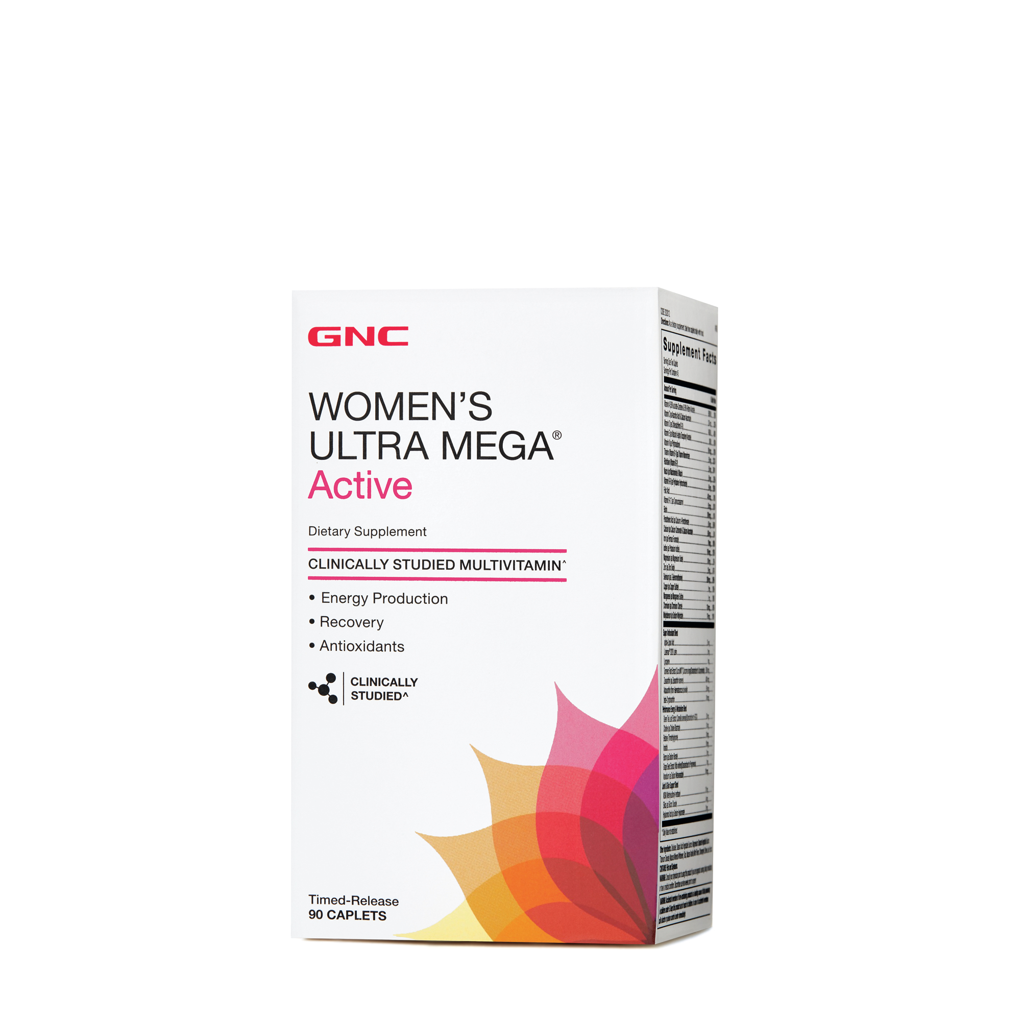 Gnc Womens Ultra Mega Active Multivitamin 90ct Workout Recovery Un Ultimate Nutrition Ripped Fast Acting Formula 180 Cap Support