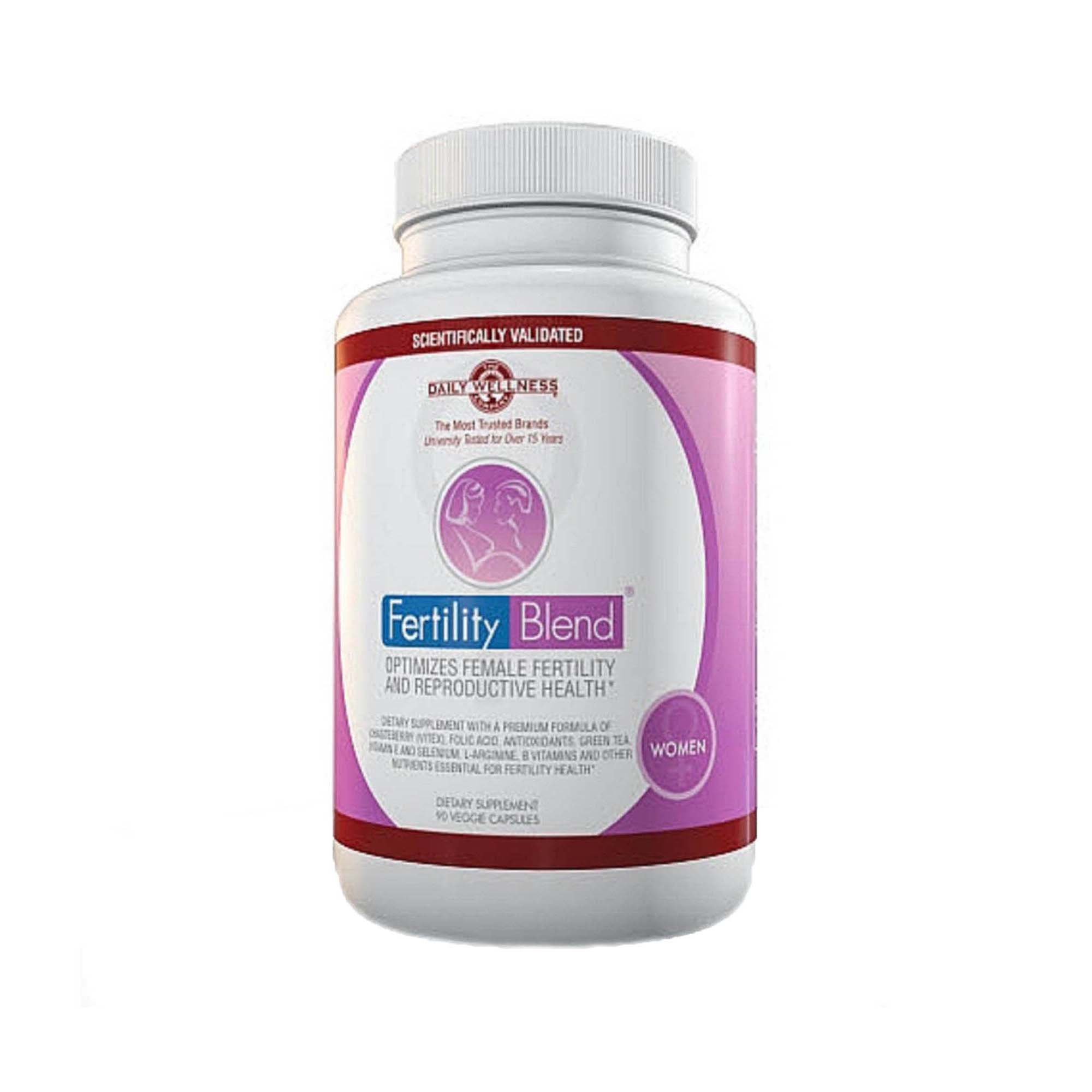 daily wellness company® fertility blend™ for women | gnc