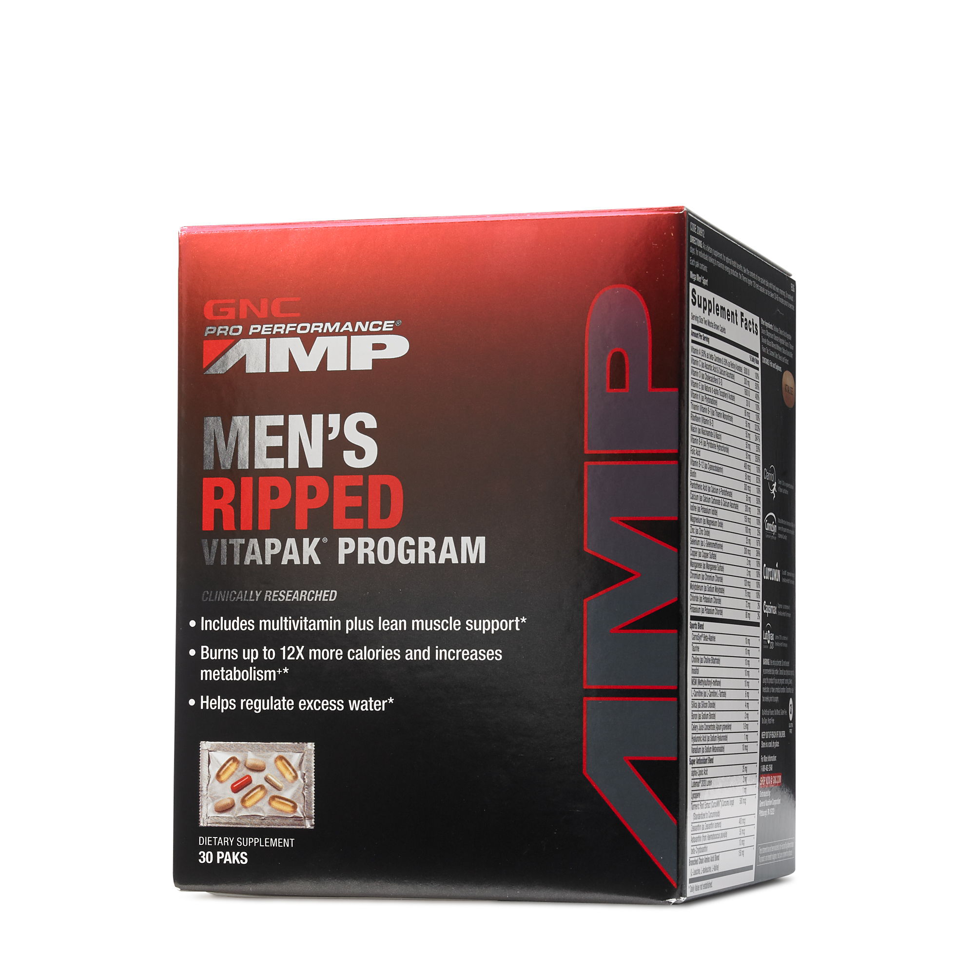 Gnc Pro Performance Amp Mens Ripped Vitapak Program Elite Labs Mass Muscle Gainer 20 Lbs