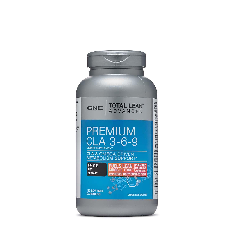 Gnc Total Lean Advanced Premium Cla 3 6 9 Supplement 120 Ct Gnc