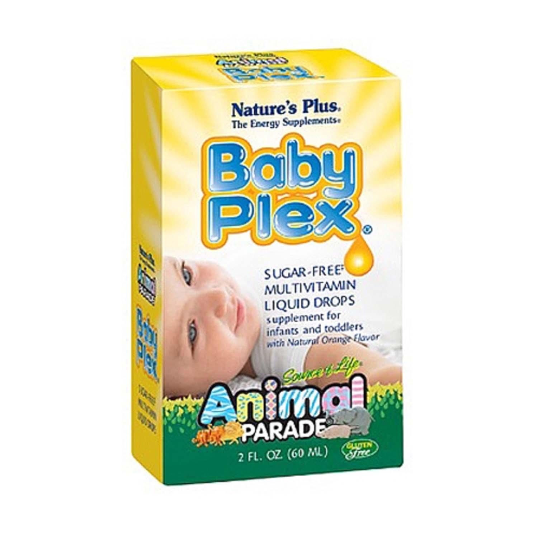 Natures Plus Baby Plex Gnc Calcium Animal Parade