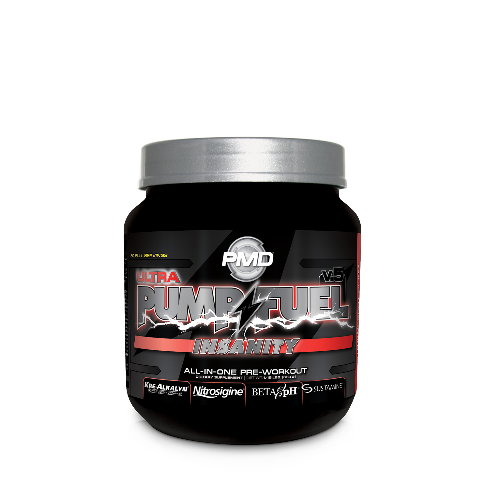 Pmd Pump Fuel Insanity Ultra Strawberry Slam Gnc