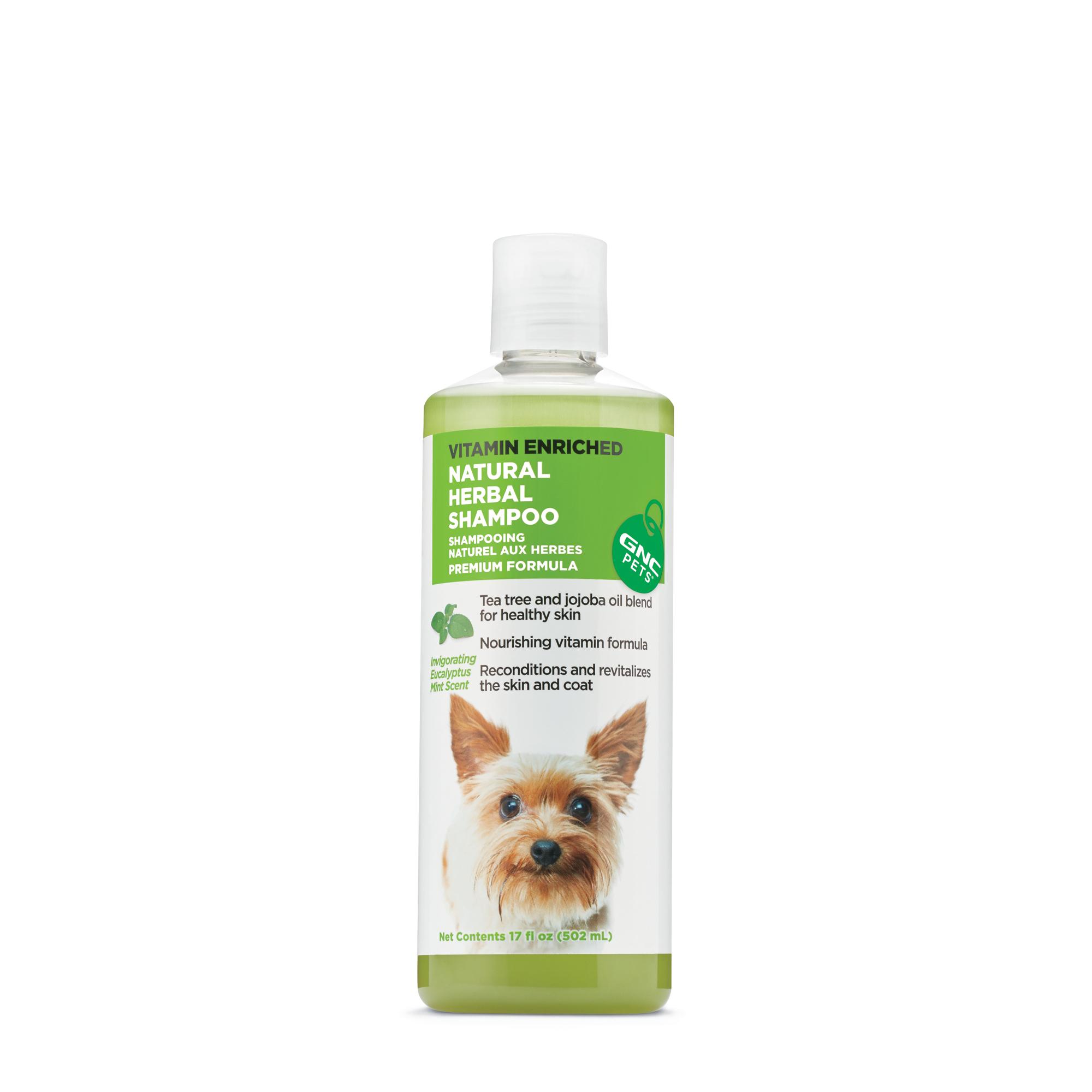 Gnc Pets Natural Herbal Shampoo Invigorating Eucalyptus Mint Scent Gnc