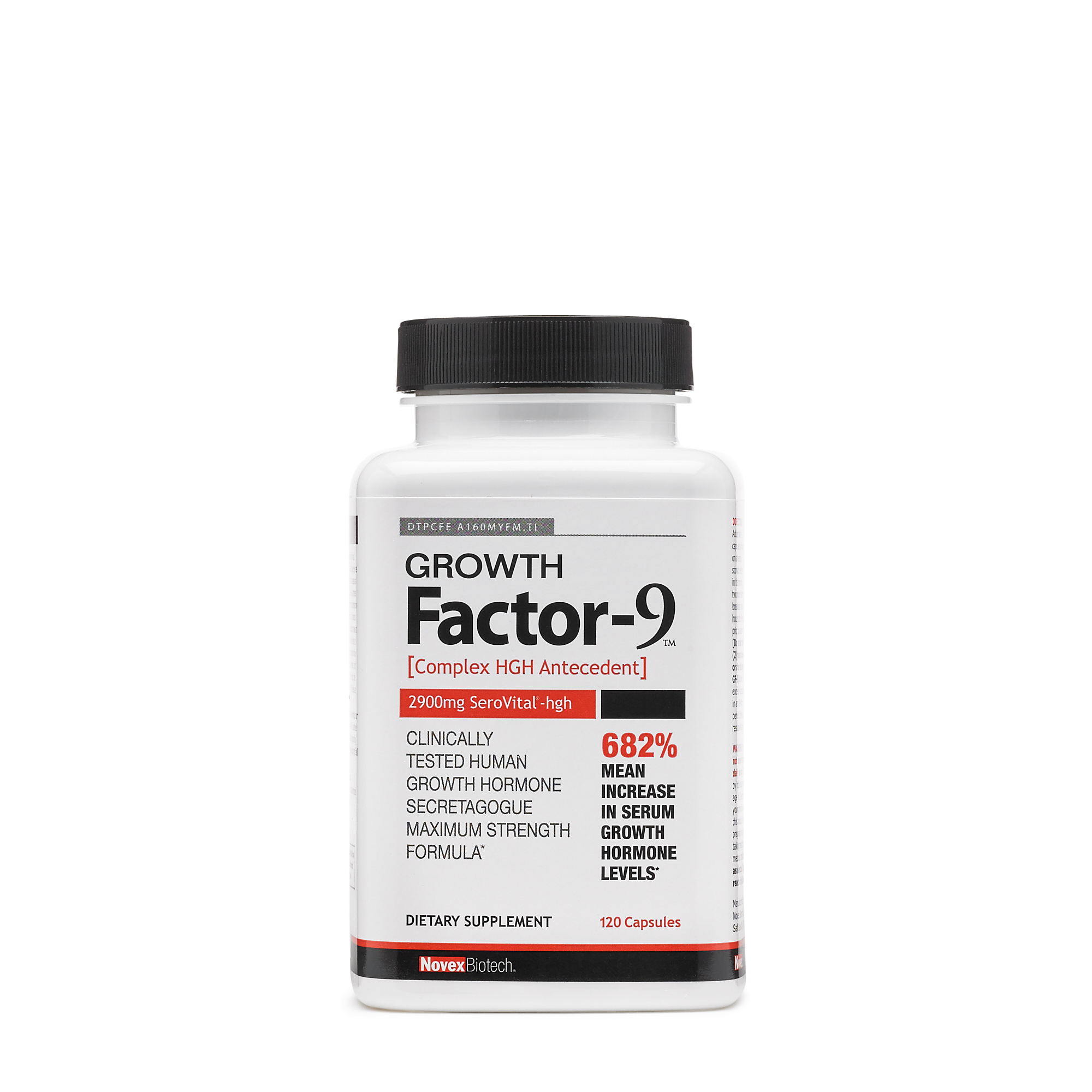 Novex Biotech Growth Factor 9 Gnc