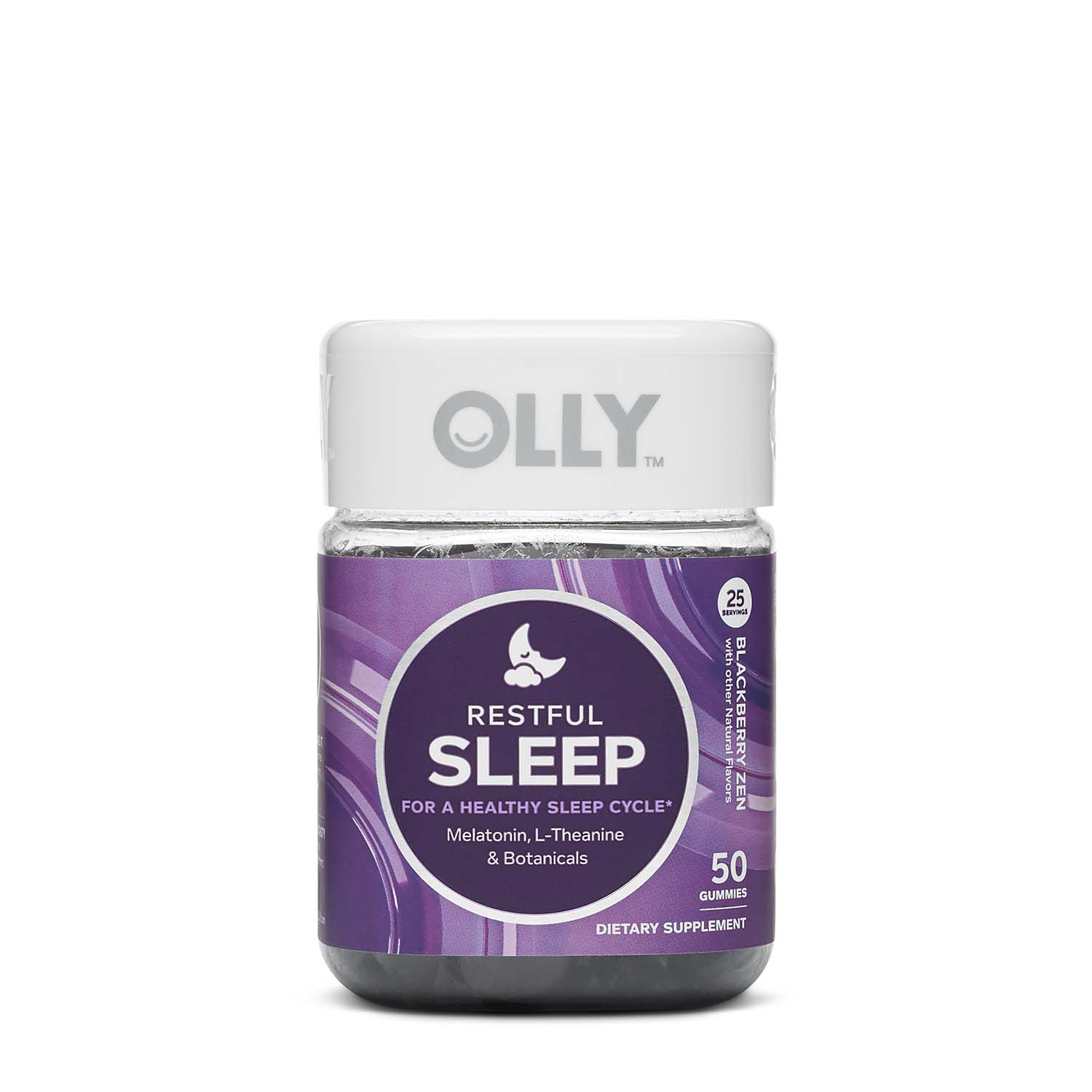 Olly Restful Sleep Blackberry Zen Gnc